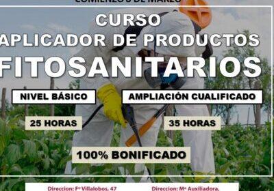 curso aplicador de productos fitosanitarios